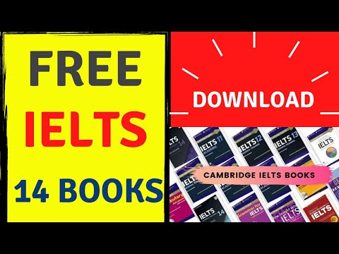 How To Download Cambridge IELTS Practice Books 1 To 14