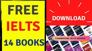 Скачать How To Download Cambridge IELTS Practice Books 1 To 14