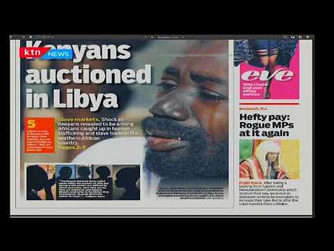 Kenyans auctioned in Libya