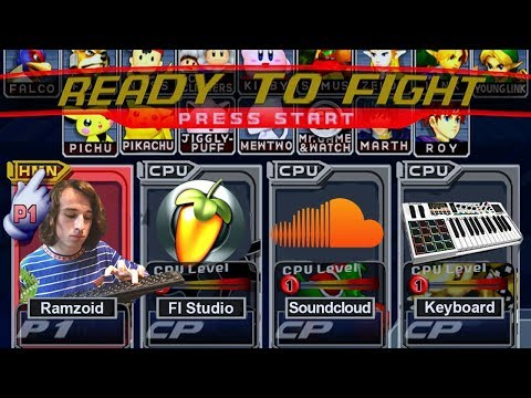 Making fire beats using only SUPER SMASH BROS SOUNDS