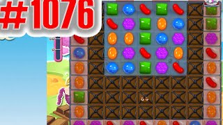 Candy Crush Saga Level 1076, NEW! Complete!