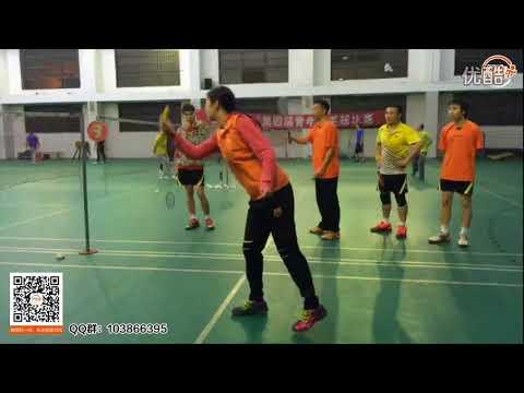 美女教练在线教球第6期精华版(羽毛球吊球、杀球、反手和双打指导)杜杜教练 羽毛球教学视频 超清
