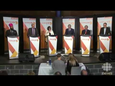 The Six Federal NDP Leadership Candidates Debate in Sudbury - 28 May 2017