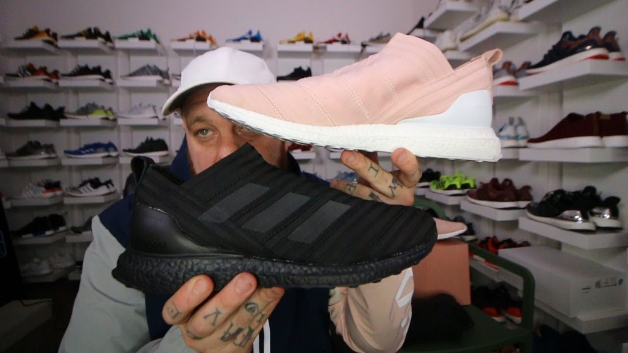 online store dc133 8ced4 Are these shoes the same COLOR!  + Kith Adidas Soccer (Cobra + Flamingo)