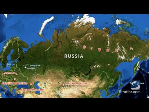 Russia's Geographic Challenge