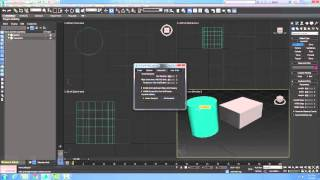 3ds Max 01-25 3ds Max Setting Grid Spacing