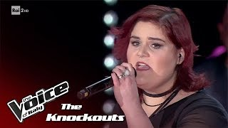 maryam tancredi quotleave a light onquot knockouts the voice of italy 2018