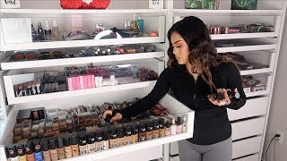 Download CLEANING & ORGANIZING MY MAKEUP ROOM! Mp3 and Videos