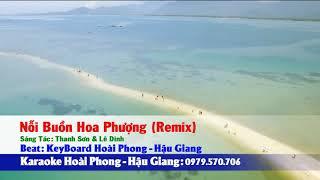 Karaoke noi buon hoa phuong remix