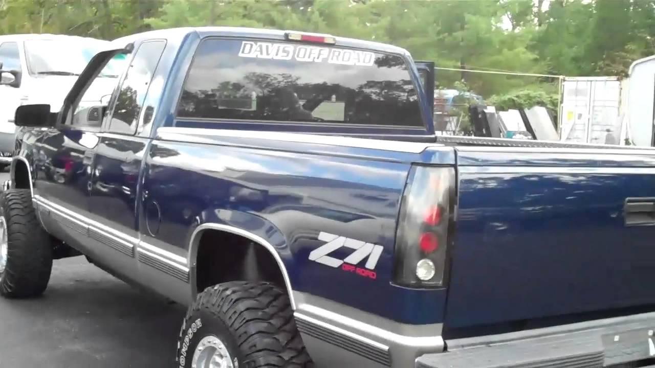 1998 Chevy Silverado 1500 4x4 Youtube