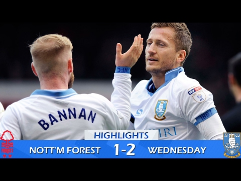 Nottingham Forest 1 Sheffield Wednesday 2 | Extended highlights | 2016/17