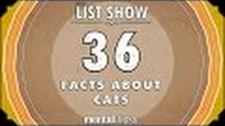 Open Review: 36 Facts About Cats - mental_floss List Show (EP.221) (Video)
