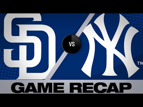 yankees-club-four-homers,-shut-out-padres---5/29/19