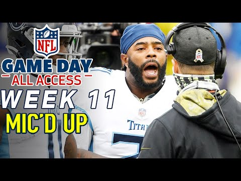 NFL Week 11 Mic'd Up,