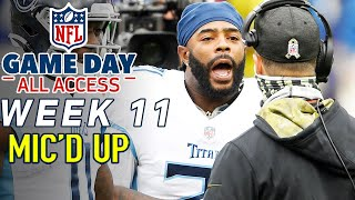 "NFL Week 11 Mic'd Up, ""Go Coach a Game!"" 