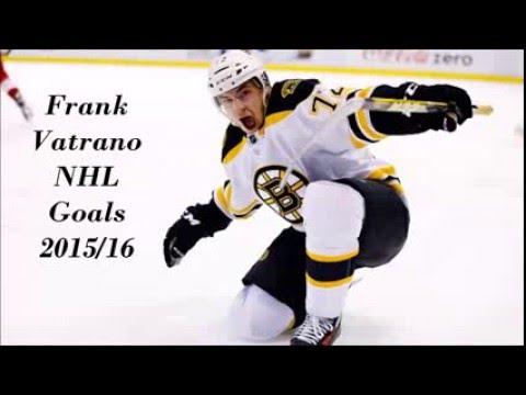 Frank Vatrano NHL Goals 2015/16