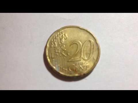 20 Euro Cents Beatrix date 2001