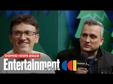 'Avengers: Endgame' Directors Joe & Anthony Russo Join Us LIVE | SDCC 2019 | Entertainment Weekly