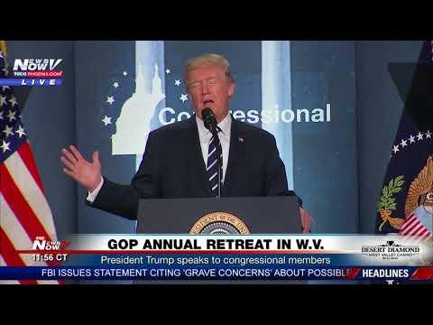 FULL: President Trump Speaks at GOP Retreat in West Virginia