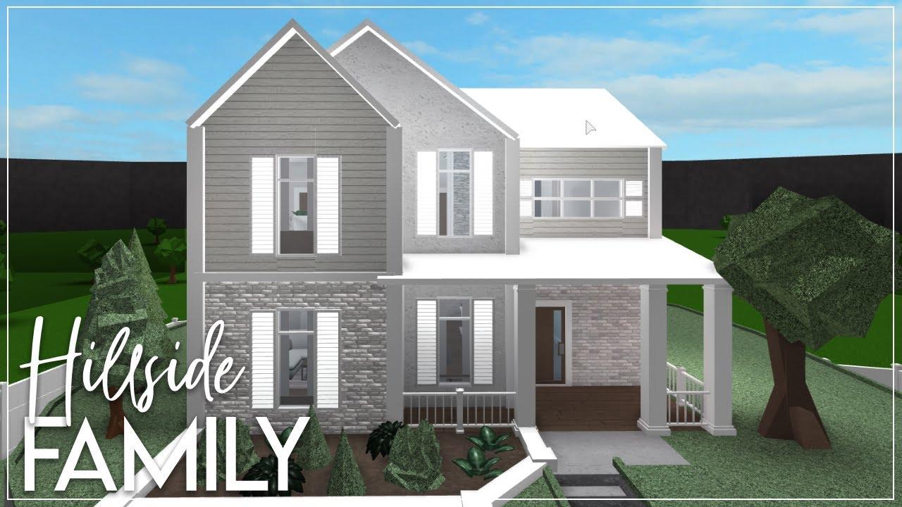 Family Roblox Bloxburg House Ideas