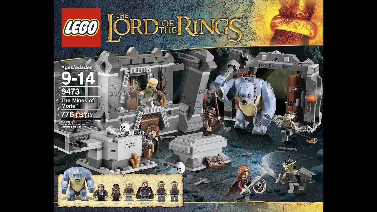 9473 Hd Of Review Hobbit Mines Moria Action The Rings Lord Figure Lego eQdoWxCBr