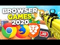 BEST Browser Games to Play in 2020 | NO DOWNLOAD (.io Games - NEW)