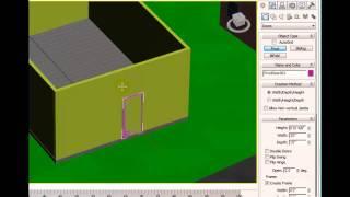 3ds Max 2012 Tutorial - Installing a Door