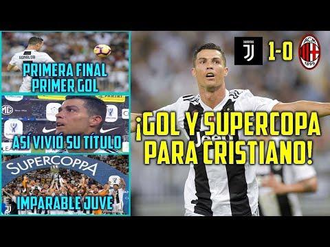 ¡CRISTIANO DA LA SUPERCOPA A LA JUVENTUS! | GOL PARA GANAR SU PRIMER TÍTULO EN ITALIA | TOP CR7