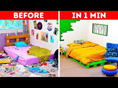 28 Organizing And Decorating Hacks For Your Bedroom