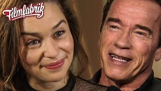 Emilia Clarkes Game of Thrones-Geheimnis! TERMINATOR: GENISYS - Interview mit Arnie & Co.