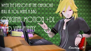 [ MMD ] Would you like a Bag? Original Motion +DL (Remake) Vocaloid Funny feat. YOHIOloid and Gakupo