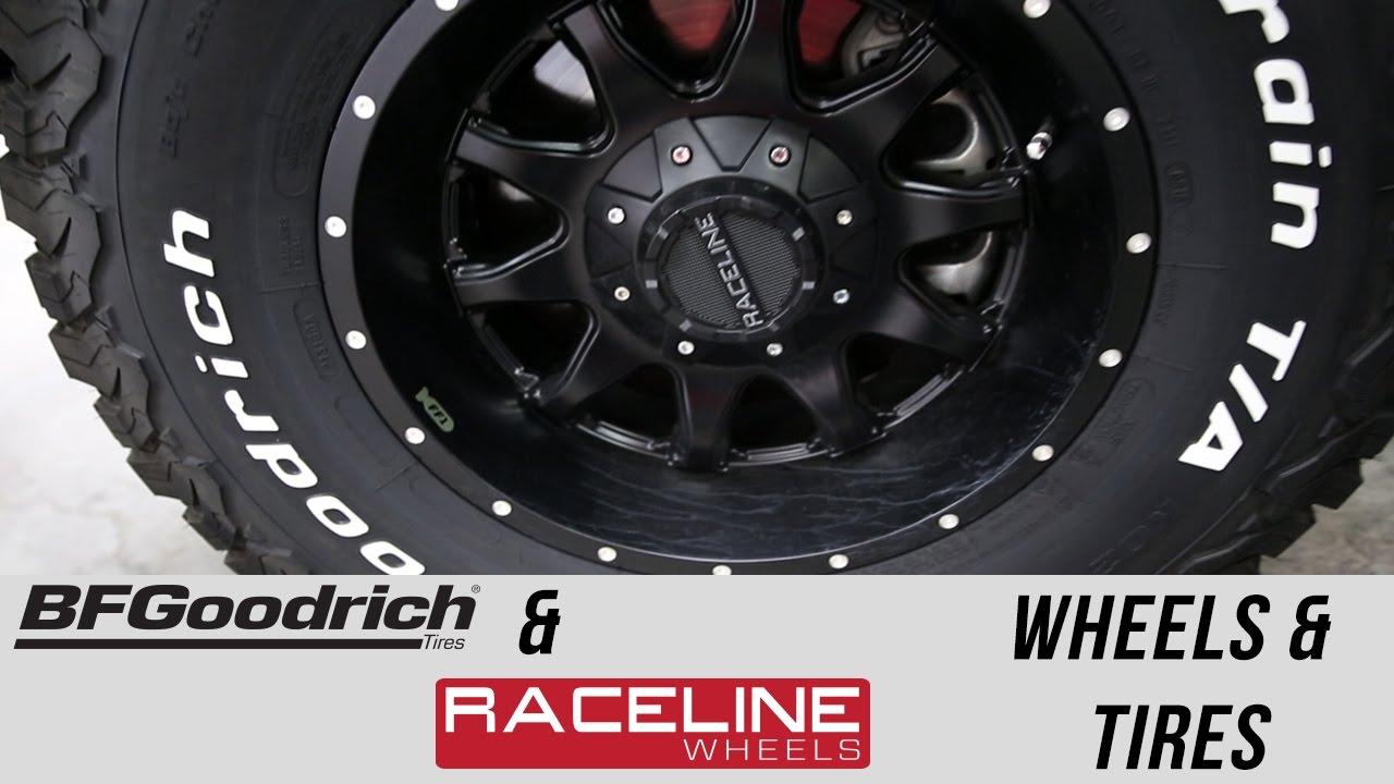 Truck Wheels And Tires >> Freedom Ford: Raceline Wheels & BFGoodrich Tires - YouTube
