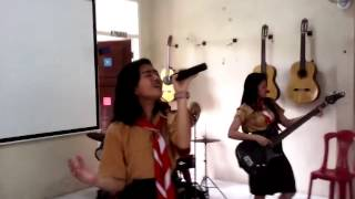 Band rock wanita Indonesia masih SMP