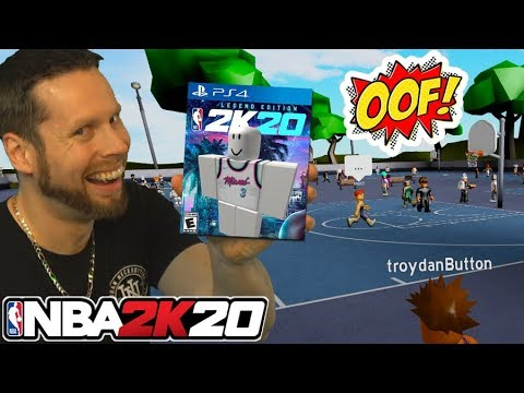 Playing Roblox NBA 2K20! They got NEW PARKS?
