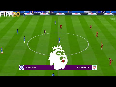 FIFA 20 | Chelsea vs Liverpool - Premier League English - Full Match & Gameplay