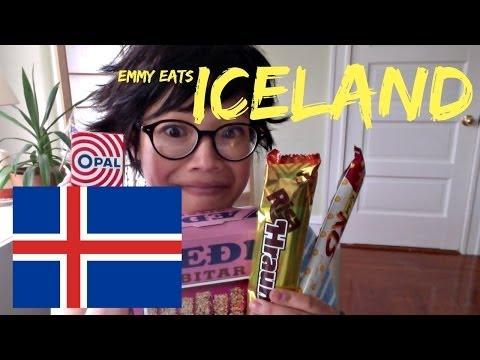 Emmy Eats Iceland - tasting Icelandic sweets