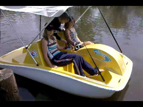 & Electric pedal boat - YouTube