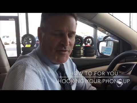 hook up your phone to car
