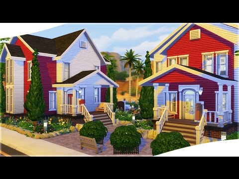 The Sims 4: House Building || House Complex (City Living LP)