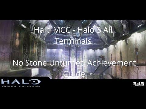 Halo MCC - Halo 3 All Terminals: No Stone Unturned Achievement Guide