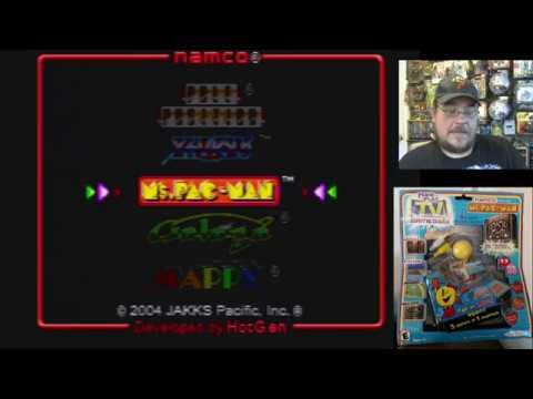 Ms. Pac-Man (Jakks Pacific version) Plug & Play TV Games game play