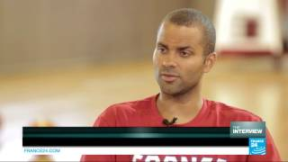 Exclusive interview with French and San Antonio Spurs superstar Tony Parker