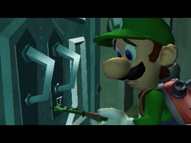 Luigi's Mansion: Dark Moon (3DS) - 100% Walkthrough Part 28 - E-1: Front-Door Key