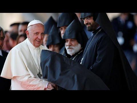 Папа Франциск говорил в Армении о