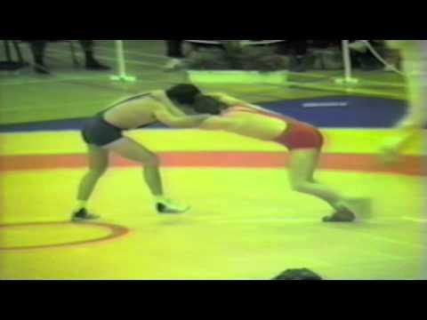 1988 Senior European Championships: 52 kg Hebert Tutsch (FRG) vs. Nicu Hincu (ROU)