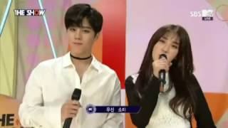 29112016 SBS THE SHOW SOMI+WOOSHIN MC CUT