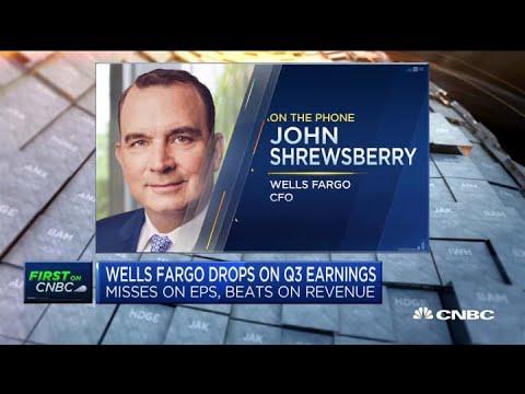 Wells Fargo CFO On The Bank's Third Quarter Earnings