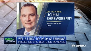 John shrewsberry, wells fargo cfo and cnbc global council member, joins 'closing bell' to discuss the company's third quarter earnings what he expect...