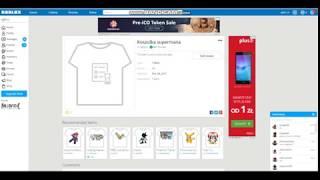 Come fare una camicia in ROBLOX???