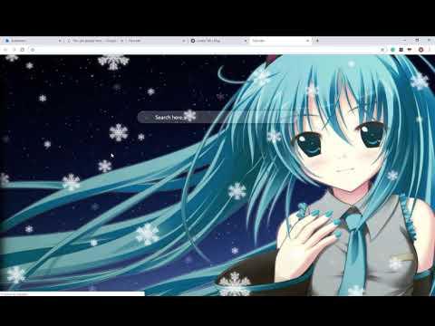 Kawaii Anime Cute Hd Wallpapers New Tab Theme